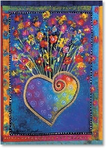 Loving Thoughts Card - You make my heart so very happy. | Laurel Burch® | 3_2001156-P | Leanin' Tree