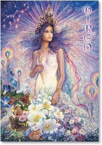 Birthday Card - Virgo: Aug 23 - Sept 22 | Josephine Wall | 3_2001590-P | Leanin' Tree