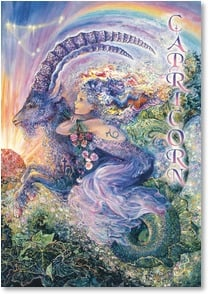 Birthday Card - For Capricorn Dec 22 - Jan 19 | Josephine Wall | 3_2001594-P | Leanin' Tree