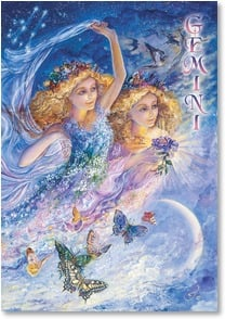 Blank Card with Quote / Saying - Gemini: May 22 - June 21 | Josephine Wall | 3_2001596-P | Leanin' Tree