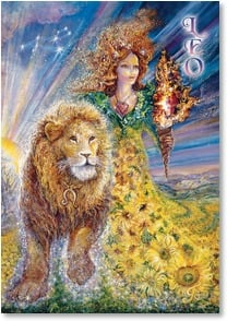 Birthday Card - For Leo: July 23 - Aug 22 | Josephine Wall | 3_2001598-P | Leanin' Tree