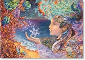 Blank Card - Snowflake Maiden | Josephine Wall | 3_2001712-P | Leanin' Tree