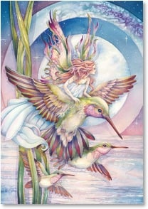 Blank Card - Fantasy Flight | Jody Bergsma | 3_2002469-P | Leanin' Tree