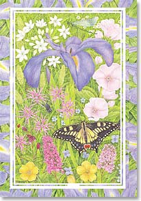 Blank Card - Garden's Beauty | Anne Mortimer | 40089 | Leanin' Tree