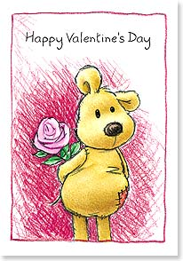Valentine's Day Card - I could just hug the stuffing out of you! | Rory Tyger | 40653 | Leanin' Tree