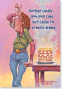 Birthday Card - Red Hot Mama! | Mike Scovel | 40690 | Leanin' Tree