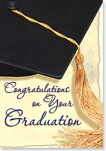 Graduation Card - Congratulations Graduate | Getty Images | 40701 | Leanin' Tree