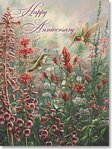 Anniversary Card - Each Year You Share  | Wanda Mumm | 41613 | Leanin' Tree