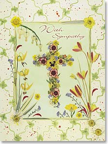 Sympathy Card - 'Earth has no sorrow that Heaven cannot heal'.  Moore | Cheryl Welch | 41648 | Leanin' Tree