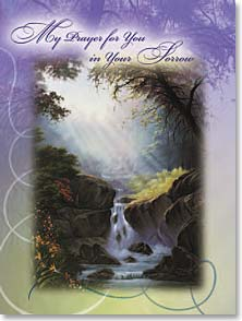 Sympathy Card - The Peace of God; Philippians 4:7 | Anthony Casay | 41863 | Leanin' Tree