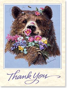 Thank You Card - Staff Pick - 43941 | Leanin' Tree