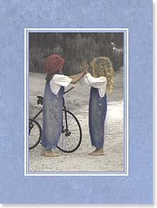 Friendship Card - Sometimes someone touches our heart and stays forever. | Karen Dvorak | 44293 | Leanin' Tree