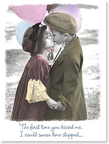 Anniversary Card - To the one who still stops my heart. | Karen Dvorak | 44306 | Leanin' Tree