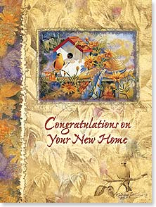 Congratulations Card - May many happy memories be created within its walls. | Kathleen Denis | 44338 | Leanin' Tree