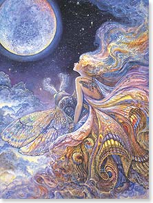 Birthday Card - May the year to come take you to the places of your dreams. | Josephine Wall | 44753 | Leanin' Tree