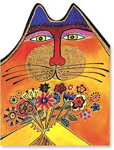 Birthday Card - You deserve a purrrfect birthday! | Laurel Burch™ | 44847 | Leanin' Tree
