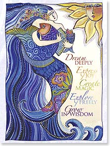Encouragement &amp; Support Card - Mermaid Dreams | Laurel Burch&amp;reg; | 44848 | Leanin' Tree