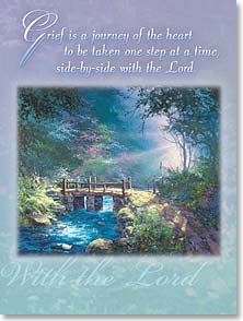 Sympathy Card - Loving Bridge: Psalm 48:14 | James Coleman | 45079 | Leanin' Tree