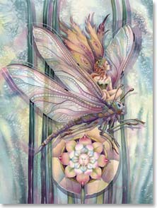 Birthday Card - May your dreams be lifted on wings of magic. | Jody Bergsma | 45749 | Leanin' Tree