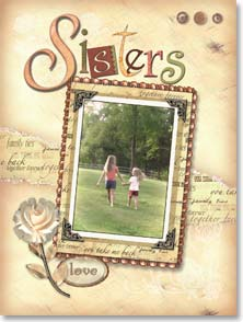 Birthday Card - Life made us sisters...and friends | Connie Haley | 45873 | Leanin' Tree