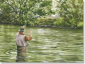 Birthday Card - Hours Spent Fishing | Bob White | 45936 | Leanin' Tree