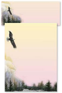 Stationery - Eagle's Wing | Larry K. Martin | 46040 | Leanin' Tree