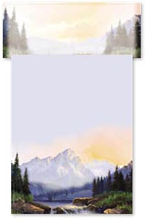 Stationery - Majestic Mountain | Beverly Carrick | 46070 | Leanin' Tree