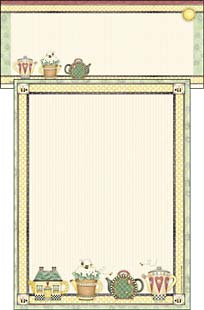 Stationery - Teapot Collection | Debbie Mumm | 46086 | Leanin' Tree