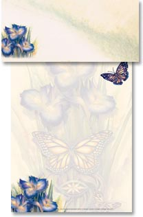 Stationery - Butterfly Beauty | Jody Bergsma | 46110 | Leanin' Tree