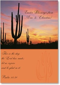 Easter Card - The Meaning of the Season; Psalm 118:24 | Robert Dawson | 4_2000511-P | Leanin' Tree