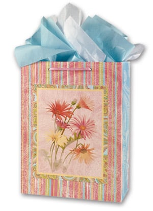 Gift Bag Set - Sale - Daisy Gift Bag Set - Large | Tina Higgins | 53047 | Leanin' Tree