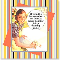 Napkins - It would be irresponsible... | Dare to Laugh™ | 53073 | Leanin' Tree