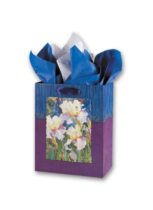 Gift Bag Set - Sale - Floral Gift Bag Set - Medium | Judy Buswell | 53412 | Leanin' Tree