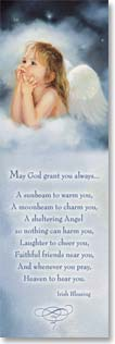 Bookmark - With Verse:  May God Grant You Always - Irish Blessing | Mary Baxter St. Clair | 54108 | Leanin' Tree