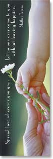 Bookmark - Quote | Spread Love Wherever You Go - 54172 | Leanin' Tree