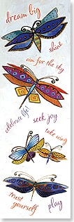 Bookmark - Dream Big | Laurel Burch® | 54224 | Leanin' Tree