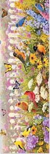 Bookmark - Flower Garden | Greg Giordano | 54234 | Leanin' Tree