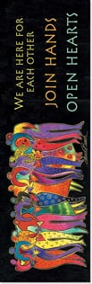 Bookmark - We are here for each other... | Laurel Burch™ | 54235 | Leanin' Tree