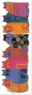 Bookmark - Colorful Cats | Laurel Burch™ | 54237 | Leanin' Tree