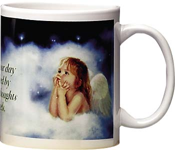 Ceramic Mug - The Sweet Thoughts of Angles | Mary Baxter St. Clair | 56010 | Leanin' Tree