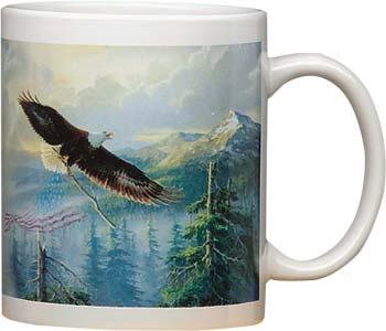 Ceramic Mug - Proud to Be An American - 56037 | Leanin' Tree