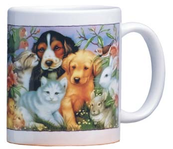 Ceramic Mug - Animals Are Such Agreeable Friends | Howard Robinson | 56048 | Leanin' Tree