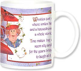Ceramic Mug - Red Hat Wisdom | Jody Houghton | 56050 | Leanin' Tree