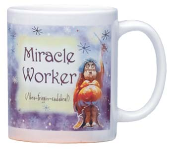 Ceramic Mug - Miracle Worker | Mike Scovel | 56056 | Leanin' Tree
