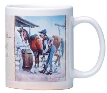 Ceramic Mug - Well Broke In | Mike Scovel | 56057 | Leanin' Tree