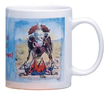 Ceramic Mug - Sale - Cowboy Encouragement | Jack Fordyce | 56059 | Leanin' Tree