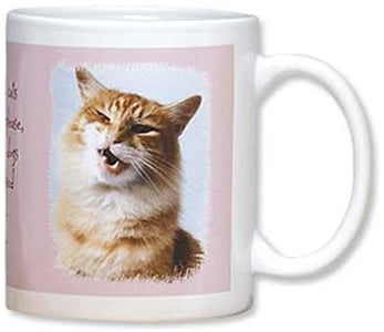 Ceramic Mug - Women and Cats Will Do As They Please | Fotosearch | 56064 | Leanin' Tree