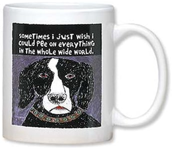 Ceramic Mug - Agitation on a Grand Scale | dug Nap® | 56067 | Leanin' Tree
