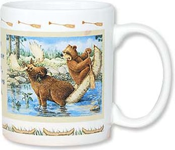 Ceramic Mug - Just When You Have A Paddle - 56070 | Leanin' Tree