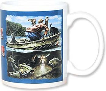 Ceramic Mug - Redneck FishFinder | Buck Wear, Inc. | 56072 | Leanin' Tree